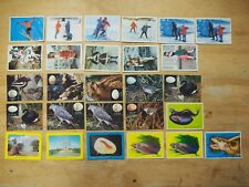 Weetbix/Sanitarium collector cards 27 off, all 1960's 6 different series