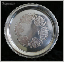 Reproduction Antique Silverplate Trays