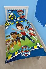 Paw Patrol Rescue 2 in 1 Single Duvet Cover Set Kids Bedroom