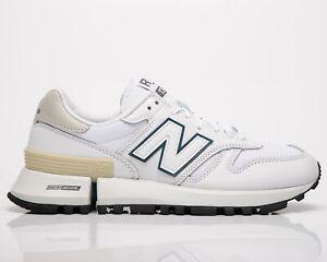 New Balance Tokyo Design Studio MS1300 Green Logo Pack Men's White Sneakers Shoe