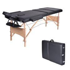 Tomama Holztischmassage Professional Tragbare Faltbar Facial Bett R8#43