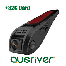 Mini 1080P FHD 170° Car Camera Dash Video DVR Cam Recorder Night Vision+32G Card