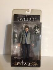 "Twilight Edward Cullen w/ Crest Collectible Action Figure 7"" New Sealed doll"