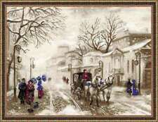"Counted Cross Stitch Kit RIOLIS - ""Old Street"""