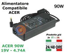 Alimentatore compatibile per notebook Acer Aspire 5551G 5742G 5930 E1 Series