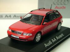 Minichamps Audi A4 Avant, rot, dealer model - 1/43