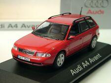 Minichamps AUDI a4 avant, rouge, dealers MODEL - 1/43
