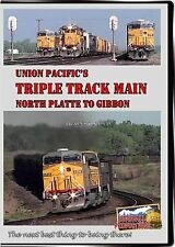 UNION PACIFIC'S TRIPLE TRACK MAIN NORTH PLATTE TO GIBBON DVD VIDEO HIGHBALL