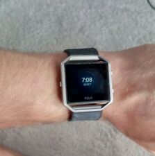 Fitbit Blaze Smart Fitness Watch - Black/silver