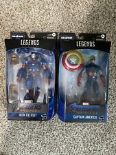 Marvel Legends- Iron Patriot & Captain America (NO BAF) Avengers Endgame