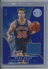2012-13 Totally Certified Blue Materials Prime Patch #163 Mark Price 21/25