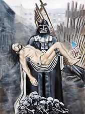 Darth Vader, Christ, and the Rubble of the World Trade Limited Edition Star Wars