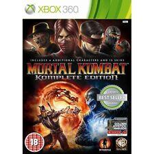 Mortal Kombat Komplete (Complete) Edition (Classics) Game XBOX 360