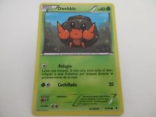 Carta POKEMON Negro y Blanco Nobles Victorias 6/101 - Dwebble ESP