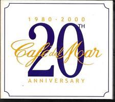 2 CD COMPIL DIGIPACK 24 TITRES--1980-2000 CAFE DEL MAR - 20eme ANNIVERSARY