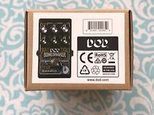 DOD Bone Shaker Distotion w/ 3-Band Parametric EQ Guitar Effect Pedal NEW