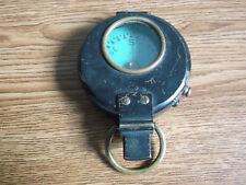 "Rare antique paper dial brass compass ""Stanley London"" 1905 (Pre Wwi)."