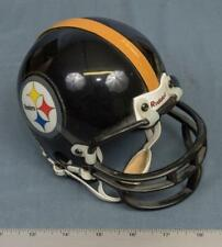 Riddell Speed 1995 3 5/8 NFL Mini Steelers Helmet Collectible Black Yellow dq