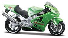 Motorrad Modell 1:18 Kawasaki Ninja ZX - 12 R gruen von Maisto