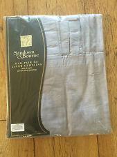 Faux Silk Modern Curtains & Pelmets