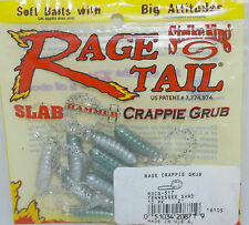 Mr Crappie Rage Tail 2'' 10pk Tennessee Shad (Crappie Pole Fishing) Rgcg-517