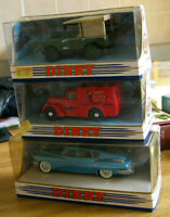 THE DINKY COLLECTION VARIOUS MODELS models and box in mint condition