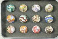 "Jabo ""Mamie's Sistersville"" Box of Marbles"