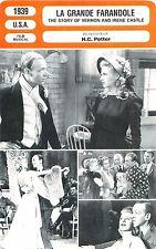 FICHE CINEMA USA La grande farandole/The story of vernon and irene H.C.Potter