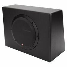 "P300-10 ROCKFORD FOSGATE / PUNCH 10"" POWERED (AMPLIFIED) SUBWOOFER ENCLOSURE NEW"