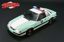 GMP 1:18 UNITED STATES BORDER PATROL 1988 FORD MUSTANG 1 Of 528 PCS GMP18845