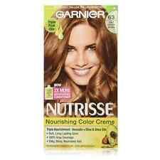 Garnier Nutrisse Haircolor Creme, Light Golden Brown [63] 1 ea