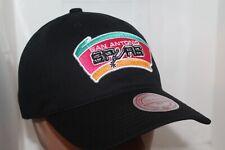San Antonio Spurs HWC NBA Mitchell & Ness Team Logo Strap-back,Hat,Cap      NEW
