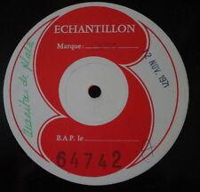 MANITAS DE PLATA ECHANTILLON PROMO 12 NOV 1971 CBS 64742 FRENCH LP