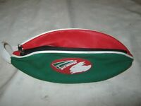 A 2016 Members Vinyl South Sydney Rabbitohs,Football Shaped Toiletry Bag