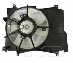 TYC 624100 Dual Rad&Cond Fan Assy for Mitsubishi Mirage 2014-2015 Models