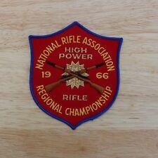 NRA Patch 1966 High Power Rifle Regional Championship National Rifle Association