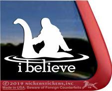I Believe | High Quality Vinyl Nessie Loch Ness Monster Bigfoot Sasquatch Decal