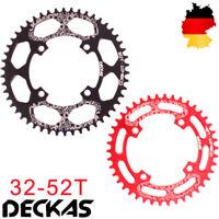 DECKAS 32-52T 104mm AL7075 Kettenblatt Kurbelgarnitur MTB Fahrrad Narrow Wide