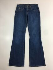 Banana Republic jeans size 0 stretch Flap Pockets Boot cut Women's Inseam 32""