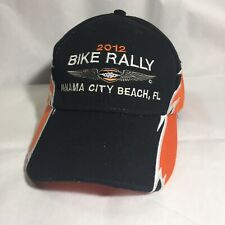 2012 Bike Rally Panama City Beach, FL Black Hat Baseball Cap Distressed Snapback