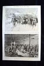 Arrivée à Zosle,Lithuanie Milejgany Lamsdorf,Silésie WW1 Guerra 1914 - 1918