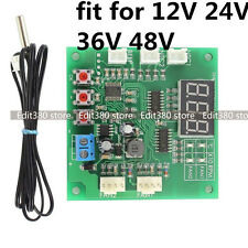 Temperature Control Speed Controller For DC 12V 24V 36V 4 Wire pin Computer Fan