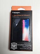 Spigen iPhone X Black Case Air Cushion Technology Ultra Hybrid