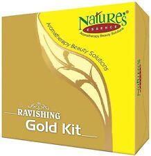 Nature's Essence Ravishing Gold Mini Facial Kit  35 Gram | Set of 4