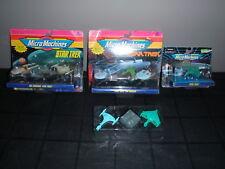 Star TreK The Movies The Original & More Galoob Micro Machines Sets Lot