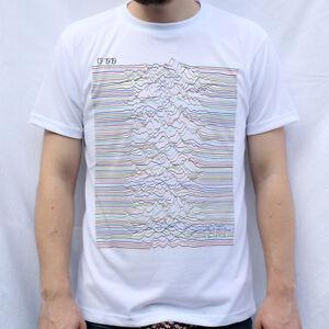 Joy Division Unknown Pleasures CP 1919 Design T Shirt
