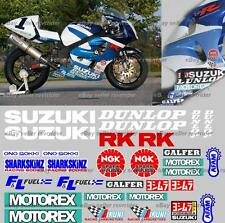 1996 1997 1998 1999 ama race decal kit fits suzuki gsxr and tl 1000 models srad