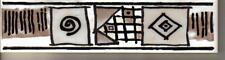 Bordüre 5x20 cm LB-211  flach   p/Stk. 1,50