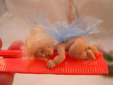 Polymer Clay Push Mold to make a tiny 2.5 inch dollhouse-scale baby doll