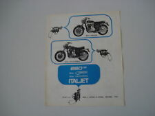 advertising Pubblicità 1970 ITALJET GRIFON/CALIFORNIA